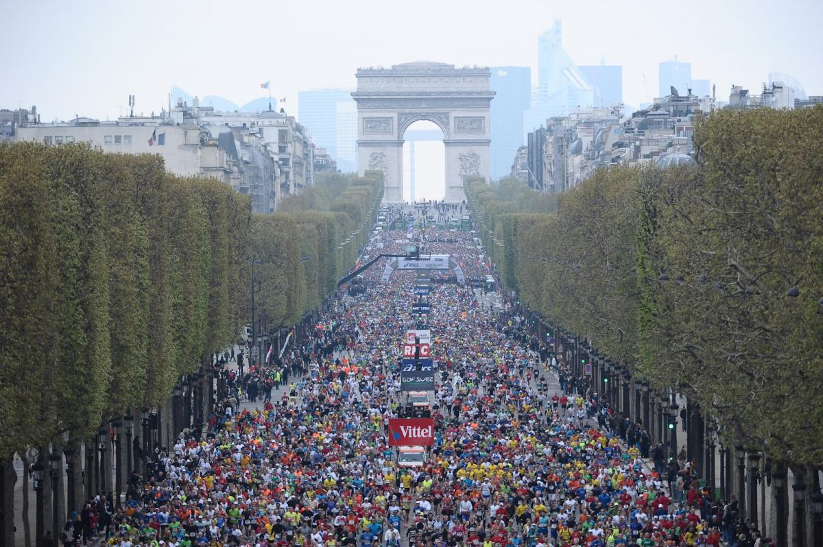 Marathon deparis